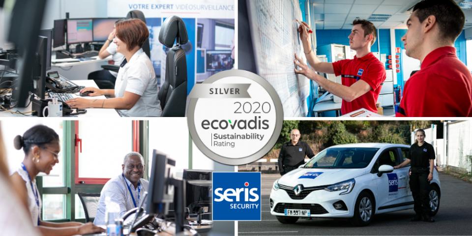 SERIS a récemment été évalué par EcoVadis sur la qualité de gestion de sa performance RSE