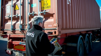 contrôle camion logistique sécurité