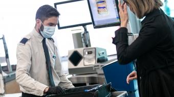 Inspection filtrage des passagers et bagages cabine
